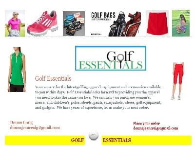 Golf Essentials