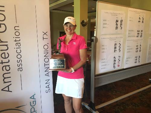 Katie Wold - Overall Low Gross Chapter Championship Qualifier Winner