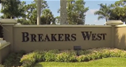 Breakers West-sign