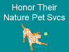 Honor Their Nature Pet Services