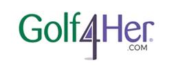 Golf4Her logo