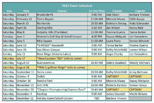 2021 Event Schedule for TTT_JUN14