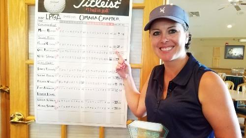 2nd flight 1st low gross Brandi Rossman