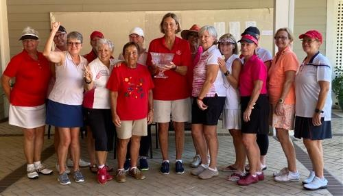 American team 2020 With Trophy