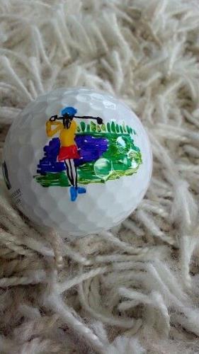 decorated golf ball idea