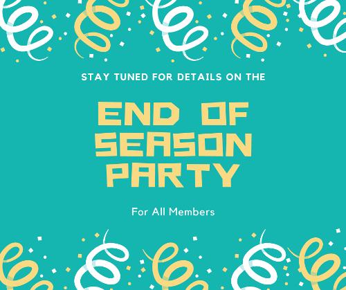 End Of Season Party