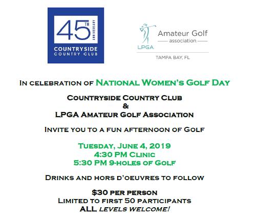 final women's golf day