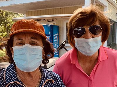Fran Whittelsey and Roseann Pellegrini
