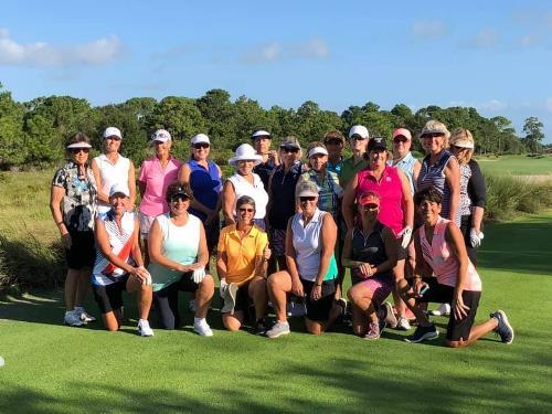 Fun at PGA
