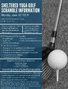 Golf Scramble Information