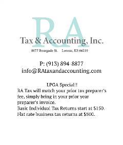 KC Sponsor - RA Tax