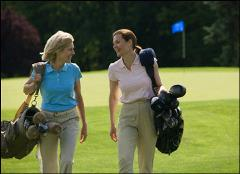 Ladies playing match play
