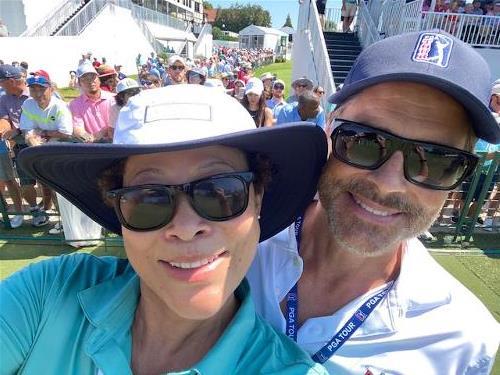 Linda and Rob Lowe