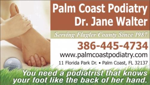 Logo Palm Coast Podiatry