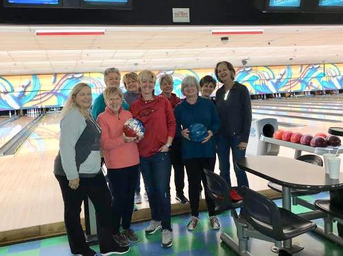 LPGA Amateurs-AR Bowling Social Event
