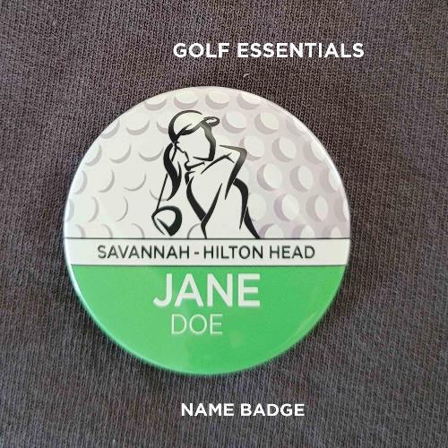 LPGA badge single photo copy