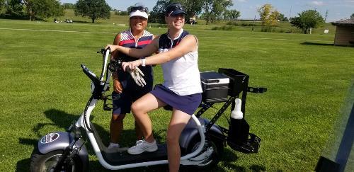 lpga Catie and Diane scooter 2019 2