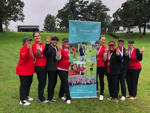 lpga Fairway Ninjas CUP 3rd place Cog Hill 2019