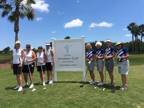 LPGA Scramble team