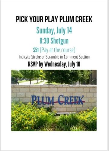 PLUM CREEK EVITE