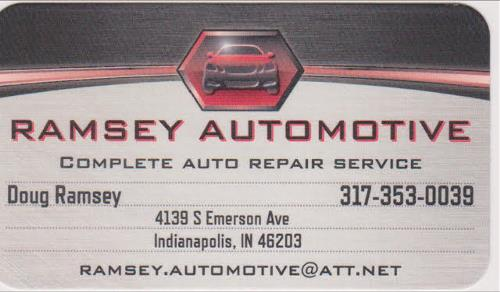 Ramsey Automotive logo 2020