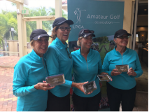 SCFL Sectionals 2019 Jan Smith, Cheryl Porther, Carey Allen, Jackie Cox