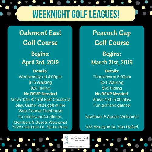 Weeknight Golf 2019